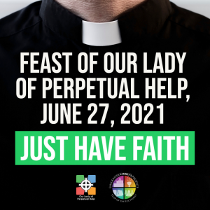 Graphic advertising Father Mike Triplett's pastoral Letter for June 27, 2021